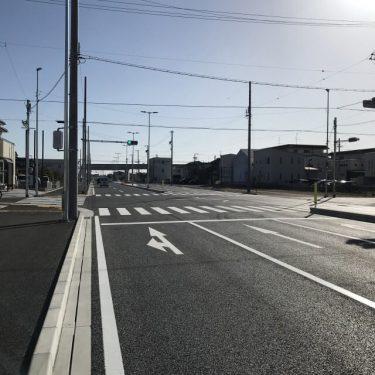 【下石田葵西線/浜松市/道路/舗装工事】『152号線〜上島駅前〜市野イオン前』ついに完全開通/終了♪